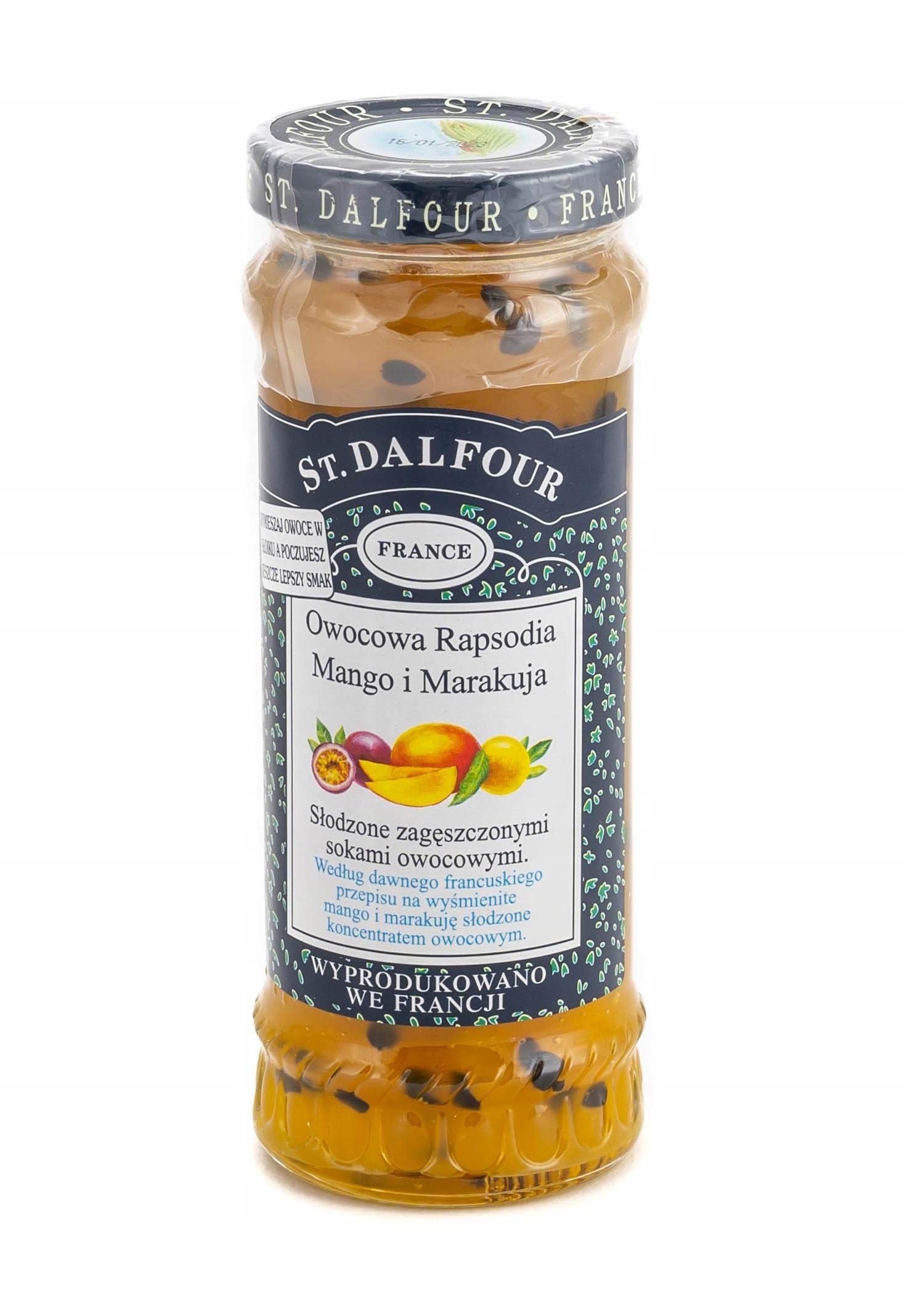 ST DALFOUR PREMIUM Варенье из манго и маракуйи 284г