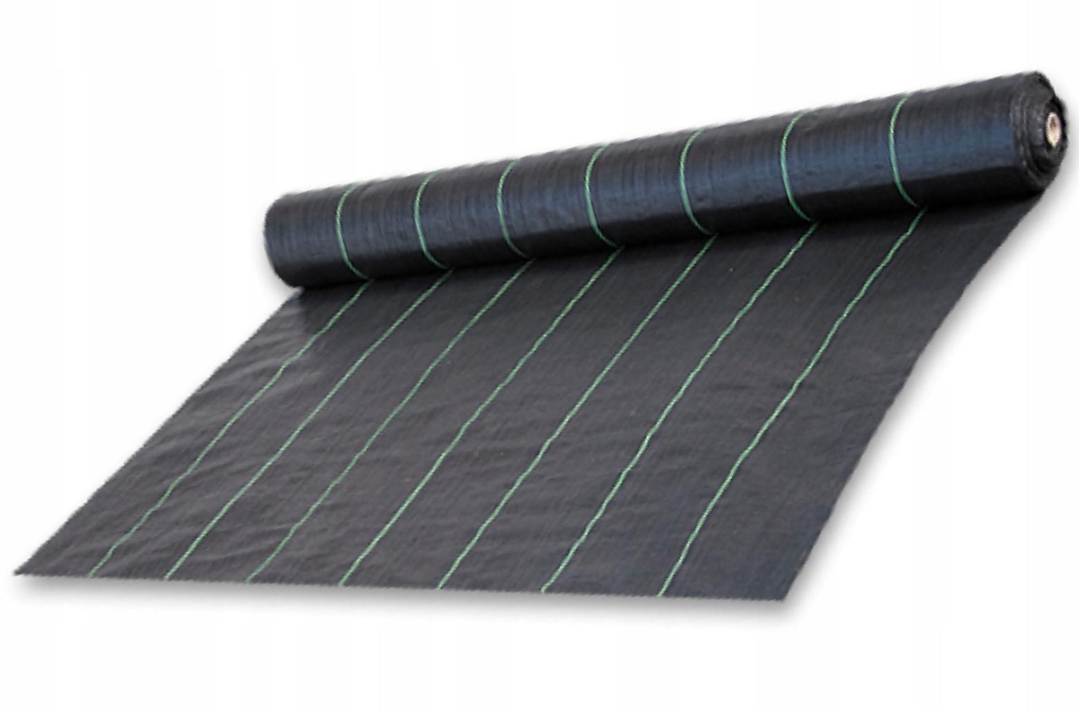 Agrotkanina antychwastowa czarna UV, 70g, 1,1 x 1m