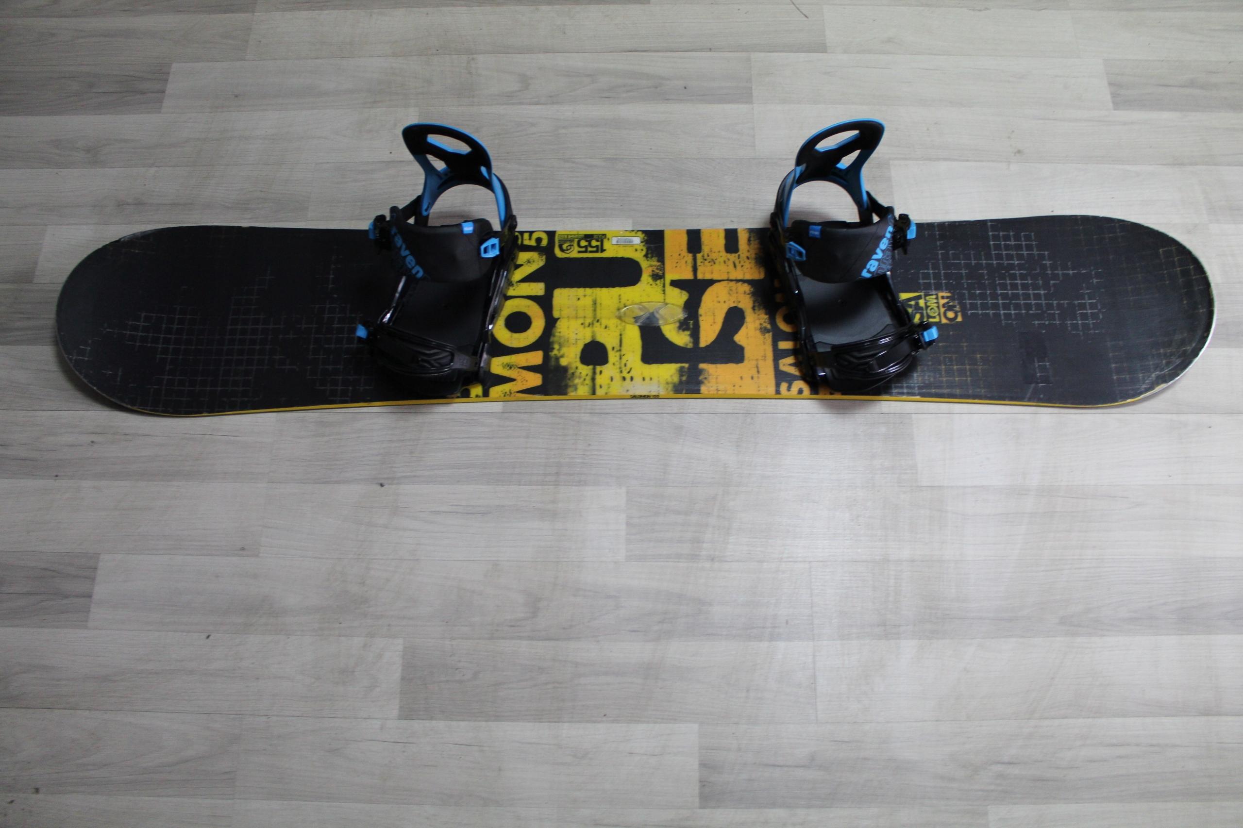 Deska Snowboard Salomon Pulse 155 Cm Wiazania No 9802385239 Allegro Pl