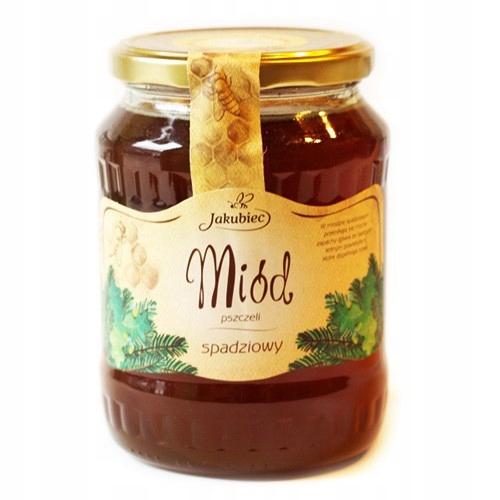 Купить Miód spadziowy 900g Jakubiec на Otpravka - цены и фото - доставка из Польши и стран Европы в Украину.