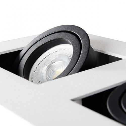 LAMPA SUFITOWA PLAFON LED NATYNKOWY OPRAWA Kod producenta SM-147W