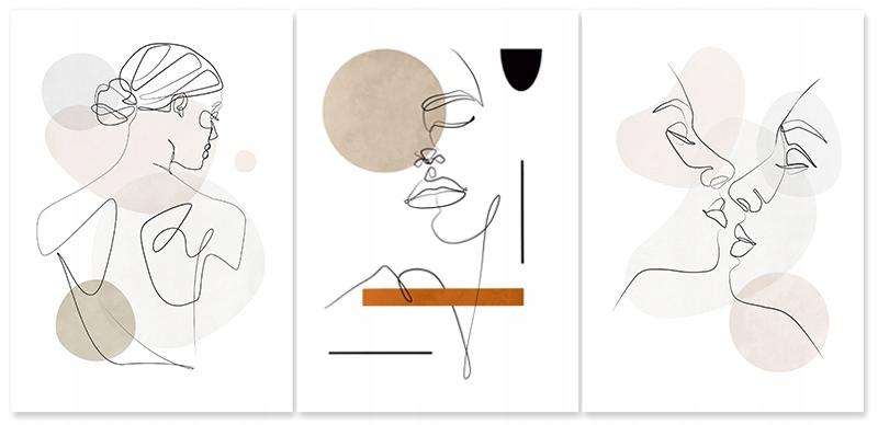 Купить Постер набор картин для гостиной А3 на Otpravka - цены и фото - доставка из Польши и стран Европы в Украину.