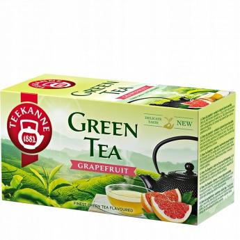 Купить Чай TEEKANNE зеленый 20 конвертов ГРЕЙПФРУТ на Otpravka - цены и фото - доставка из Польши и стран Европы в Украину.