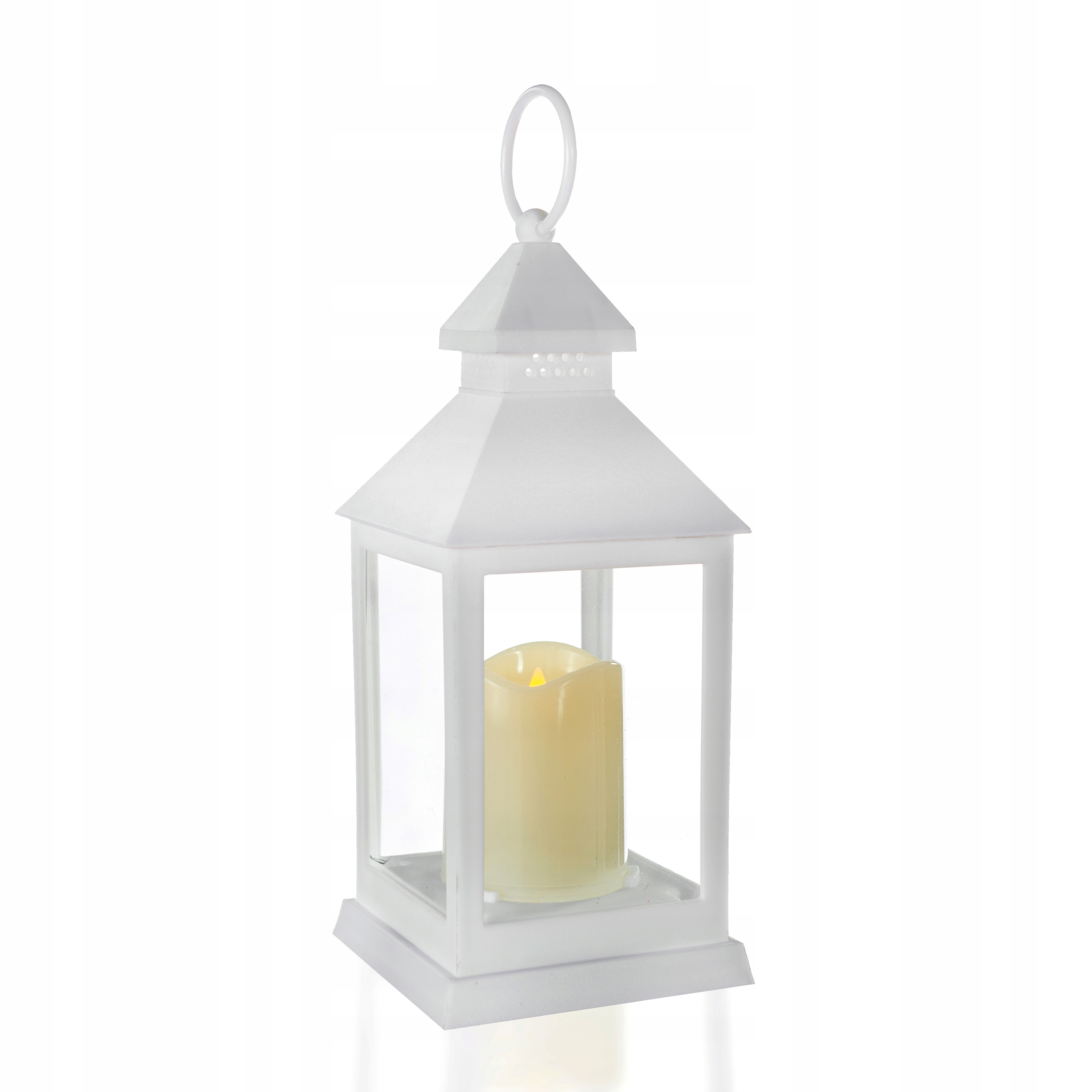 Белые фонари 28 см белые светодиодные фонари