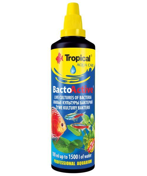 Tropical BACTO ACTIVE 100ml bakterie do akwarium