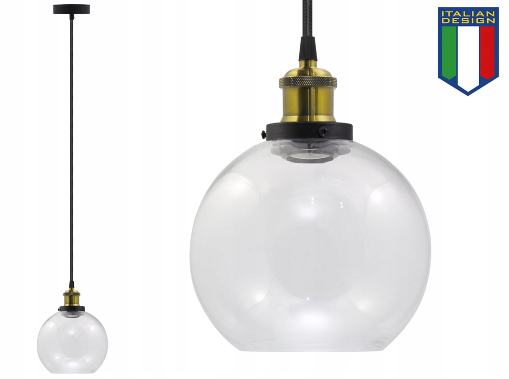LAMPA SUFITOWA SZKLANA VASO OX ŻYRADNOL LED LOFT A Marka B-LINE