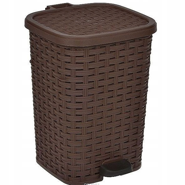 odpadkový kôš s 12L odnímateľným pedálom 4 FARBA náplň