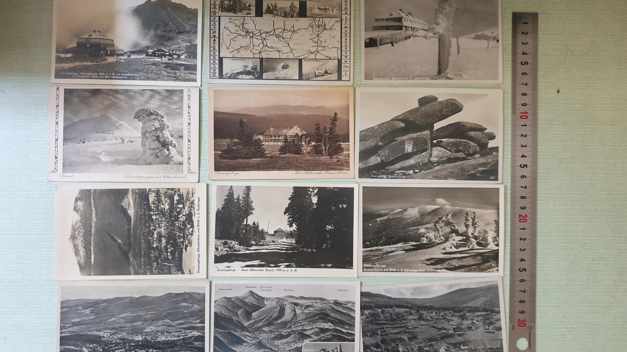 Pohľadnice sada 12 ks. Krktné hory