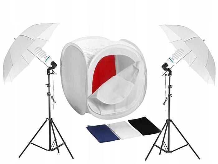 Купить Комплект БЕЗ ОТТЕНКОВ 60см 2x 85Вт + ЗОНТИКИ на Otpravka - цены и фото - доставка из Польши и стран Европы в Украину.