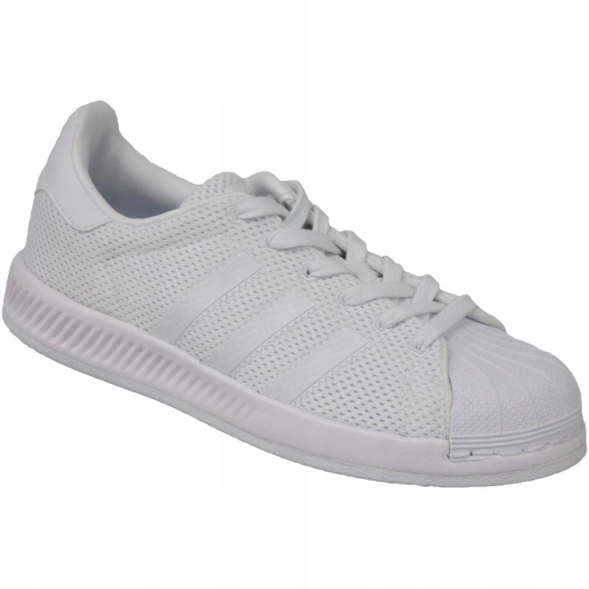 Adidas sportowe damskie białe skórzane r.35,5