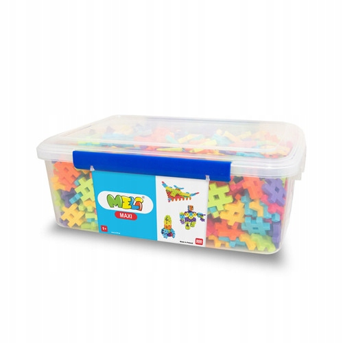 Meli Construction Blocks 1+ Maxi Edu 800 Wafers
