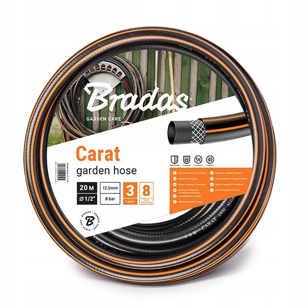 """Wąż ogrodowy CARAT 1/2"""" - 20m"""