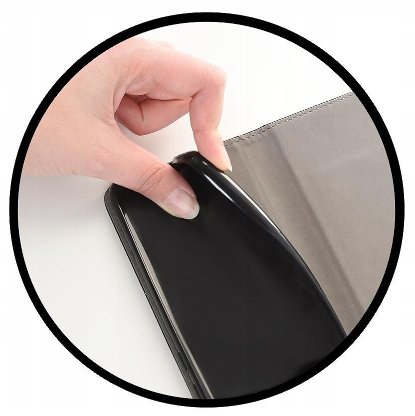 Etui do Samsung Galaxy A12 Case Magnet + Szkło 9H Kolor czarny