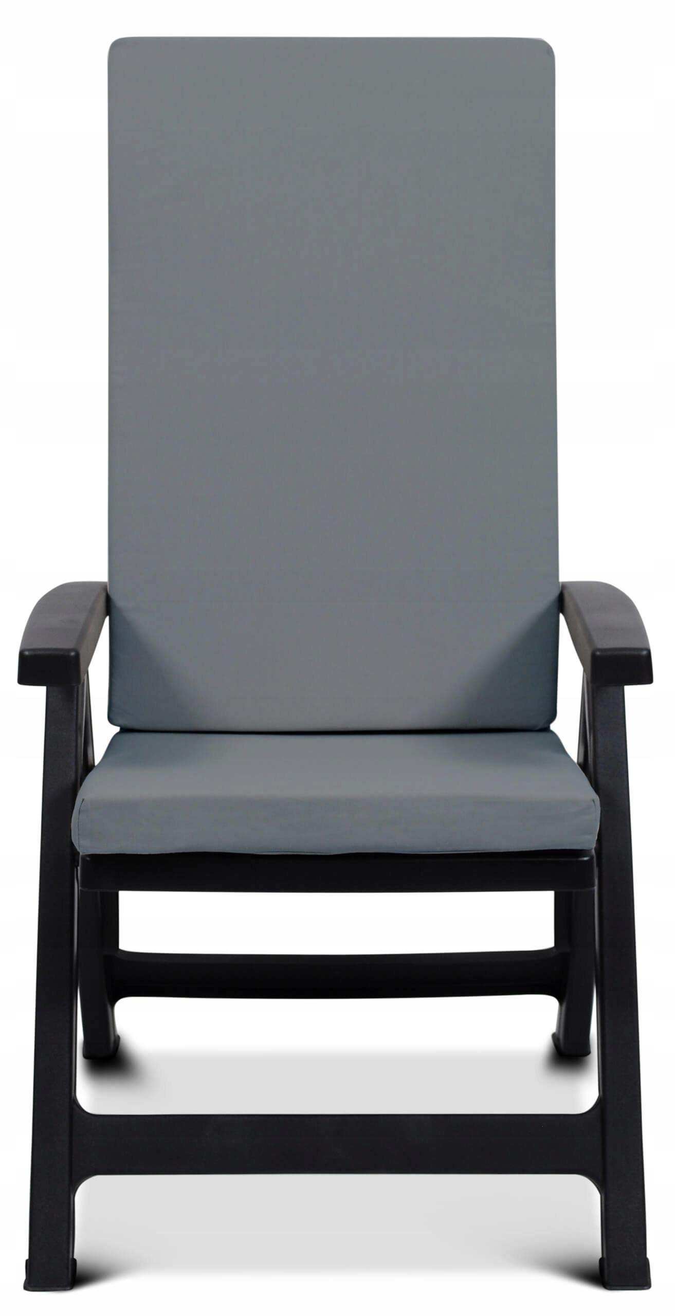 Подушка на детский стульчик MONTREAL серая S-23