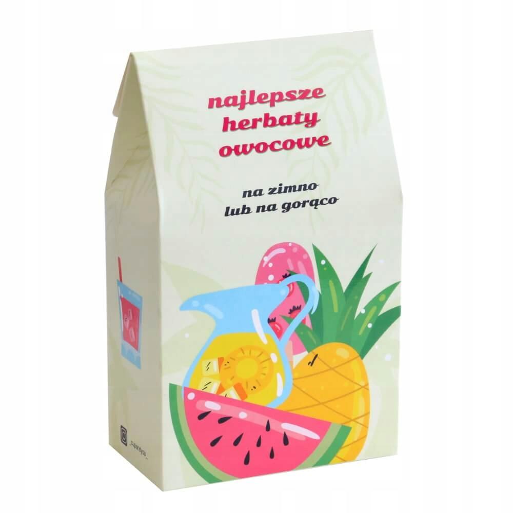 Горячие и холодные фруктовые чаи с заваркой