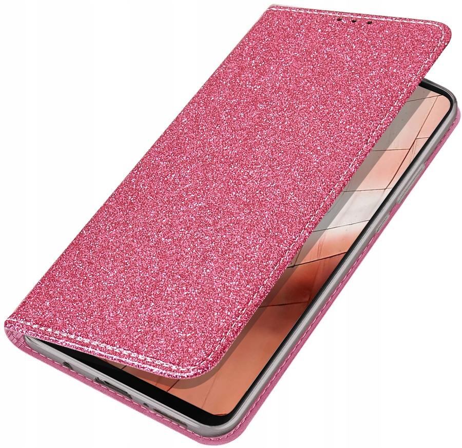Etui Magnet Brokat + SZKŁO do Samsung Galaxy A50 Dedykowany model Samsung Galaxy A50