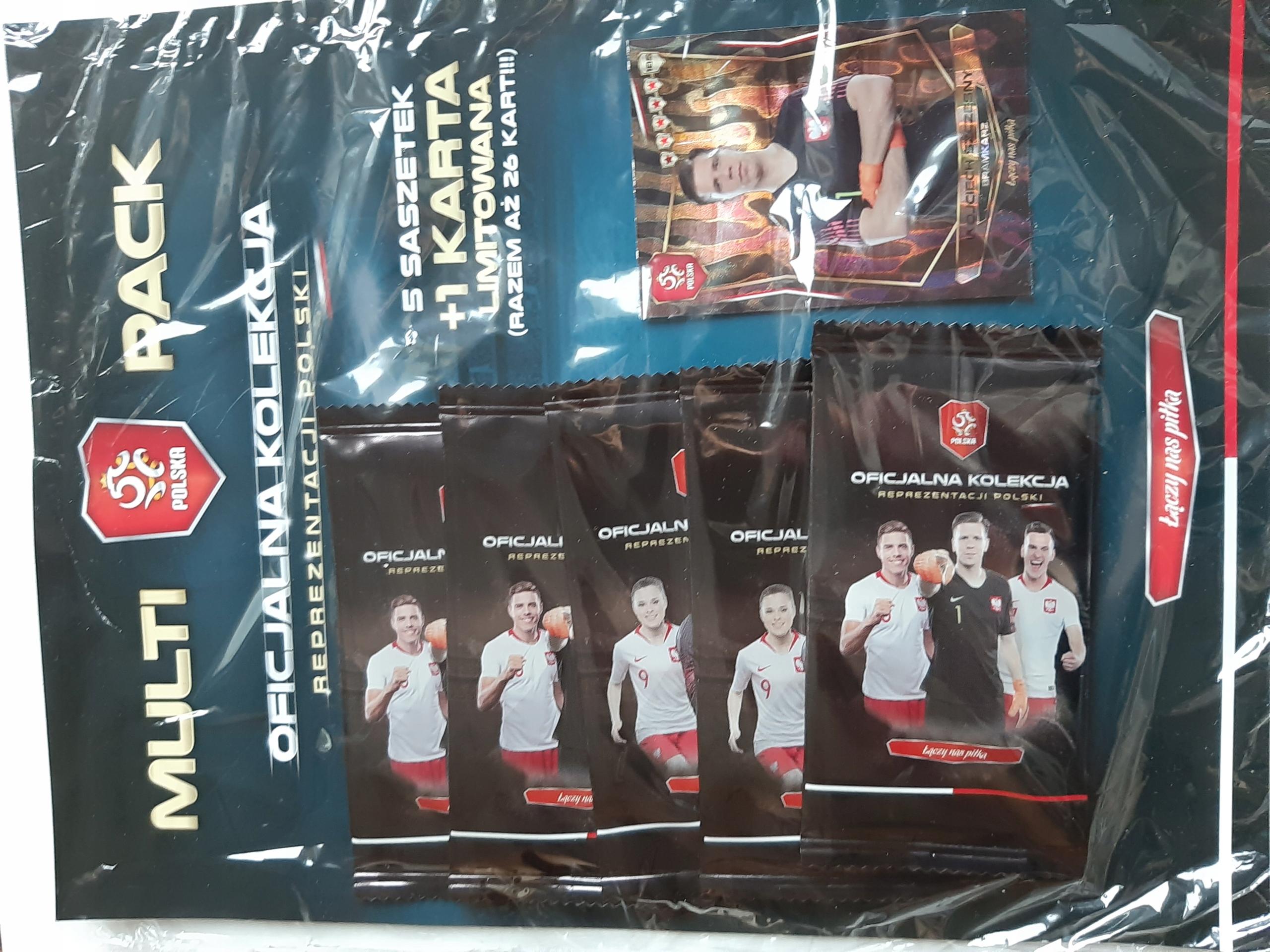 PZPN, kolekcja Reprezentacji Polski,multi pack