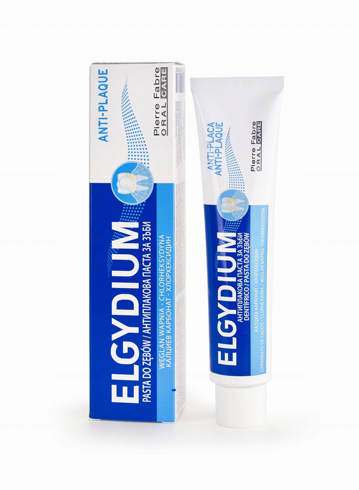 ELGYDIUM Anti-Plaque antybakteryjna pasta do zębów