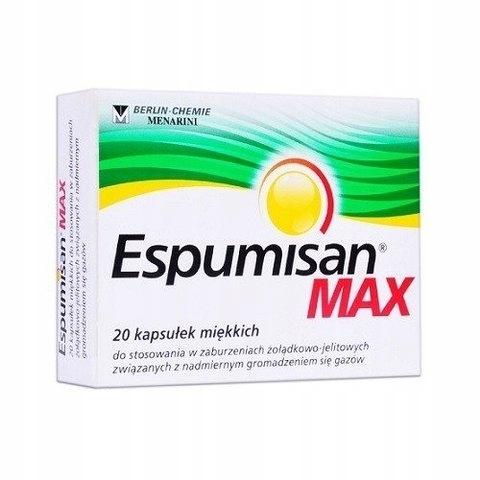 ESPUMISAN MAX - 20 kapsułek