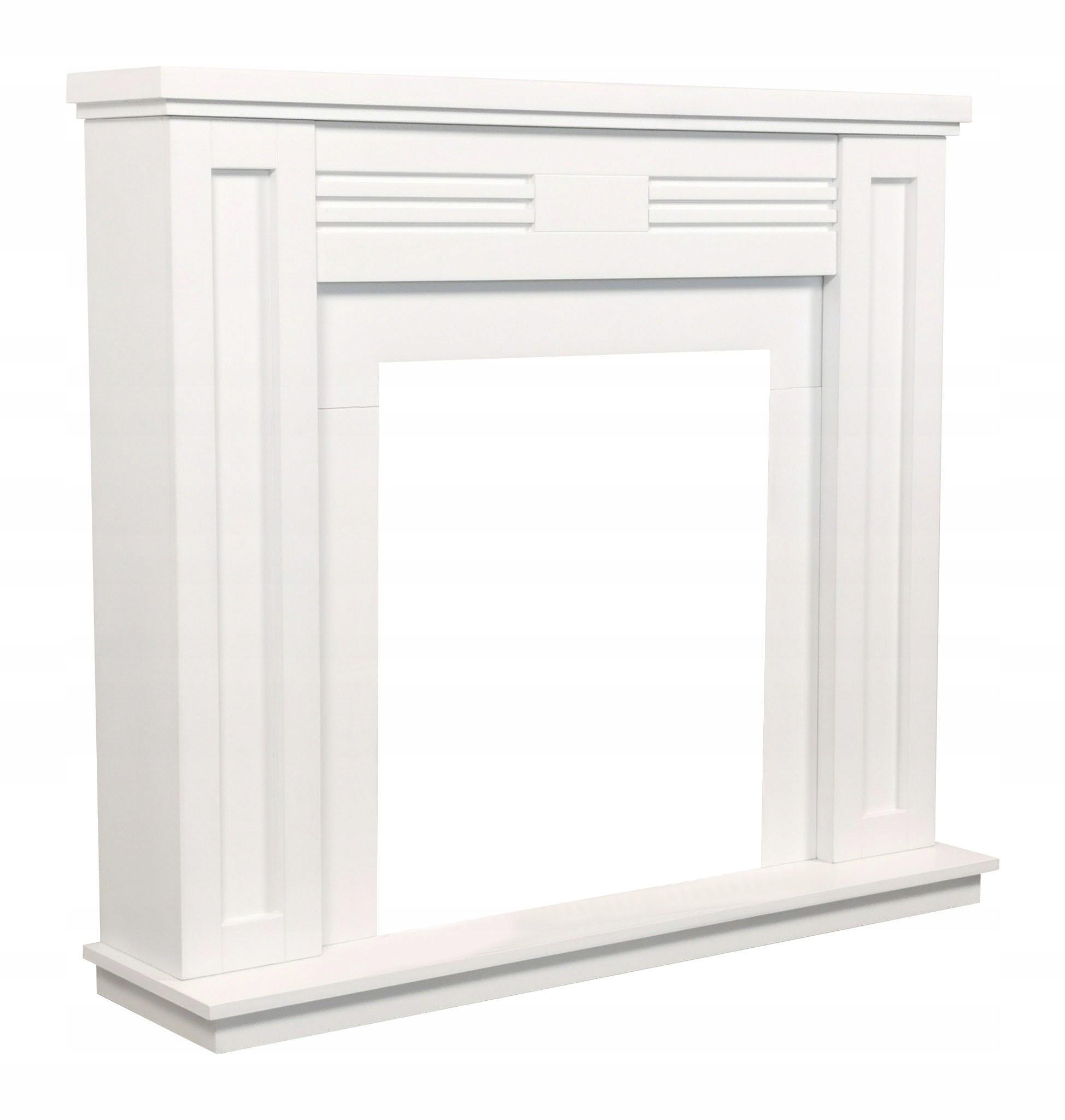 Деревянный камин жилья Белый! Стильный!