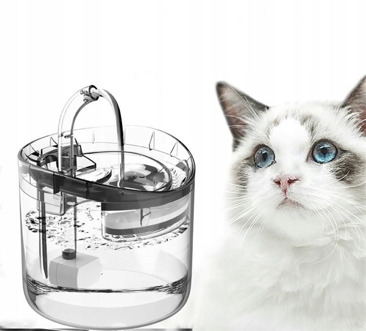 Умный фонтанчик / бутылка с водой для собак и кошек 1,8 л