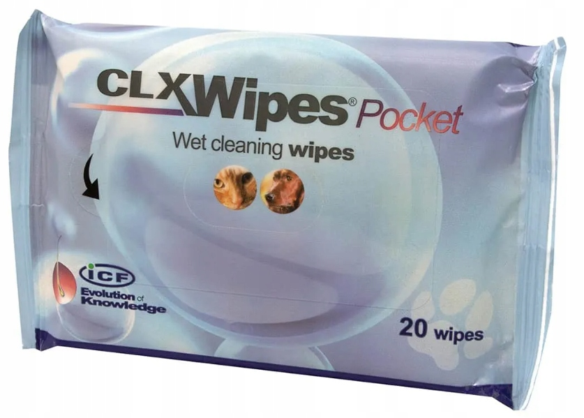Clorexyderm CLX Wipes Chusteczki 20szt. + GRATIS