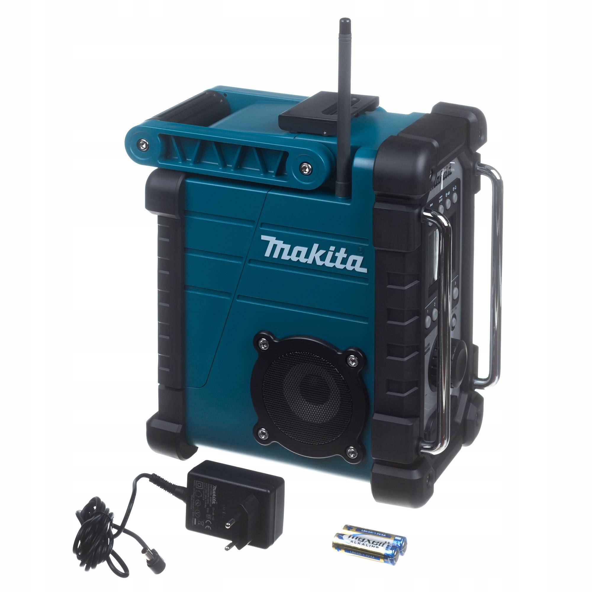 Radio budowlane Makita DMR107 akumulatorowe elektr