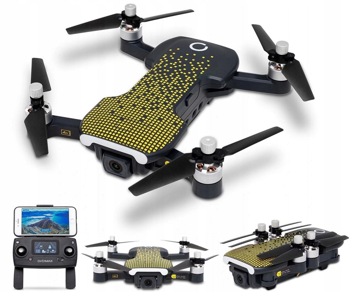 Dron Zdalnie Sterowany Fold One WiFi Kamera 4K 5G