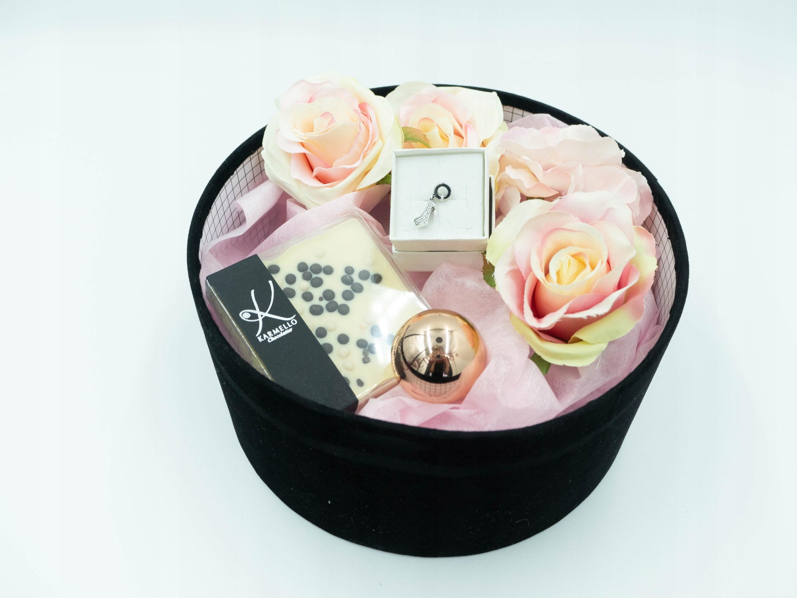 Prezent na urodziny imieniny zestaw dla Niej Box