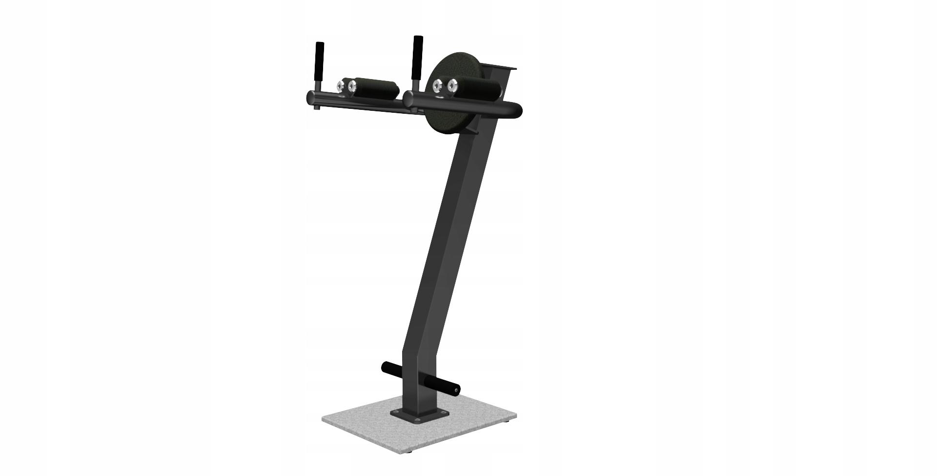 Cvičebné zariadenie - stojan na brušné svaly