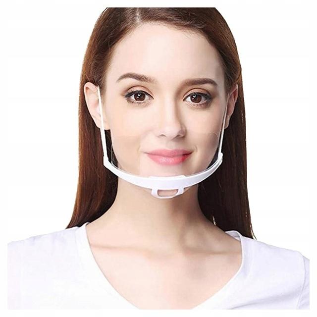 5 шт. Прозрачная маска мини козырек