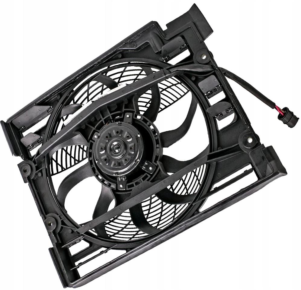 bmw e39 на заводе новый вентилятор кондиционирования воздуха