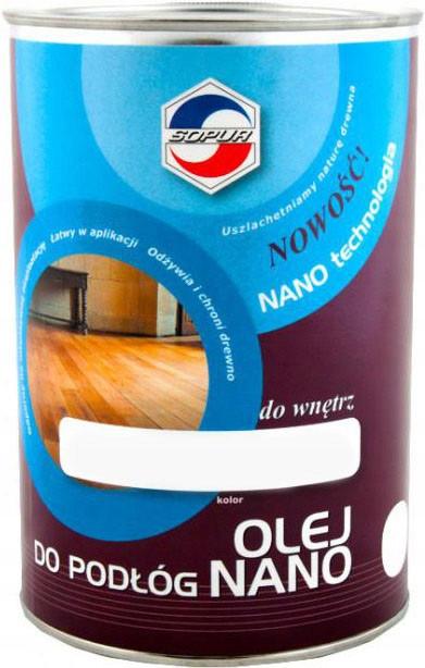 Olej do podłóg NANO SOPUR bezbarwny 1L