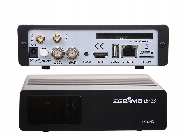 ZGEMMA H9.2S 4K ENIGMA2 Cccam Iptv Oscam Marka Zgemma