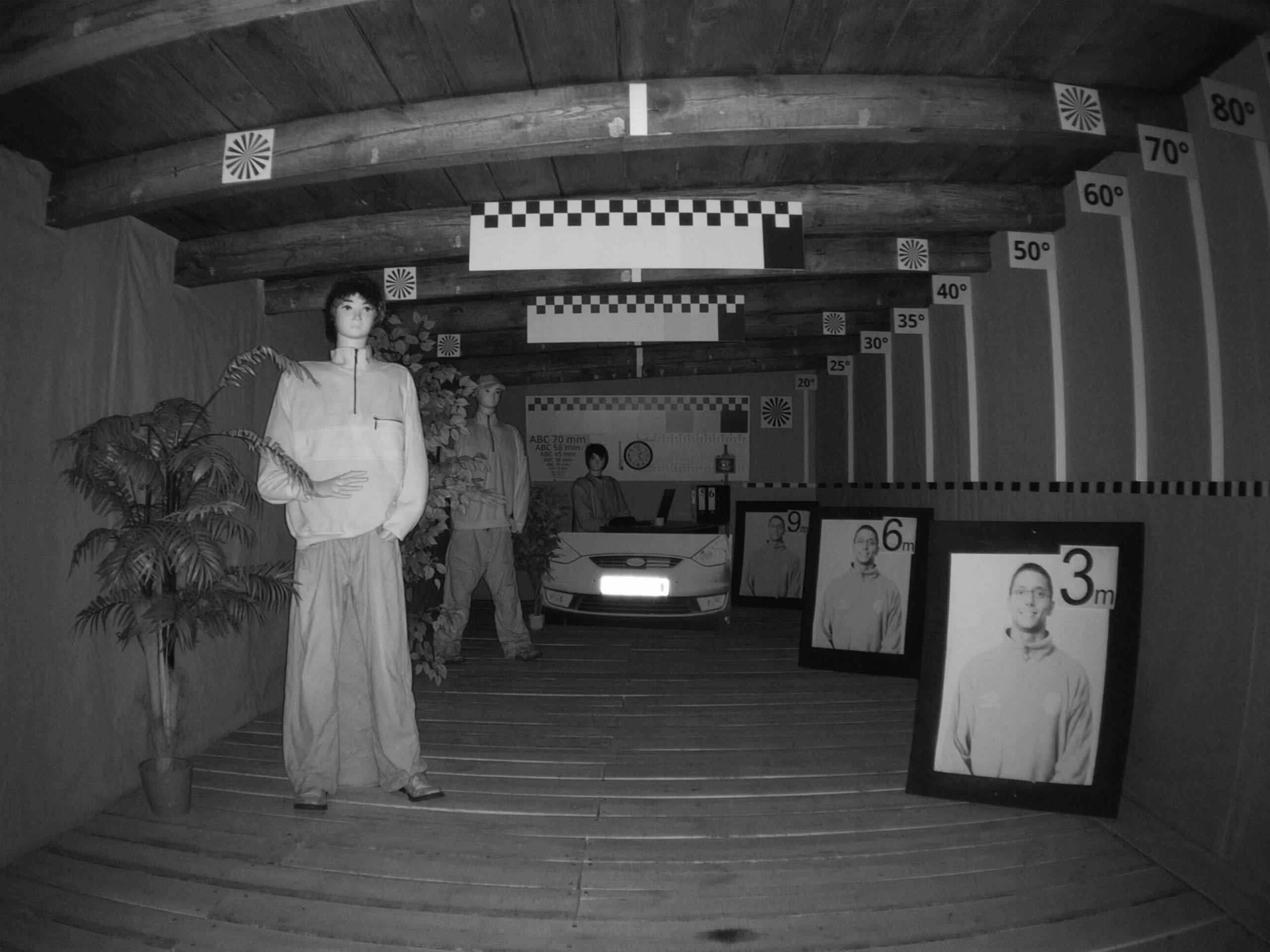 Kamera zew TUBOWA WIFI 3,6mm 5Mpx mSD do 128GB Typ kamery czarno-biała kolorowa na podczerwień
