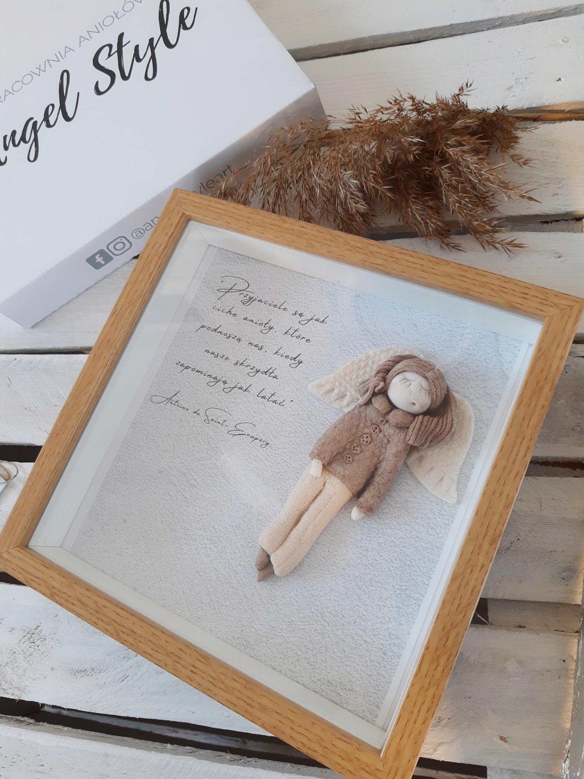 Anioł Stróż prezent dla przyjaciółki nowy dom