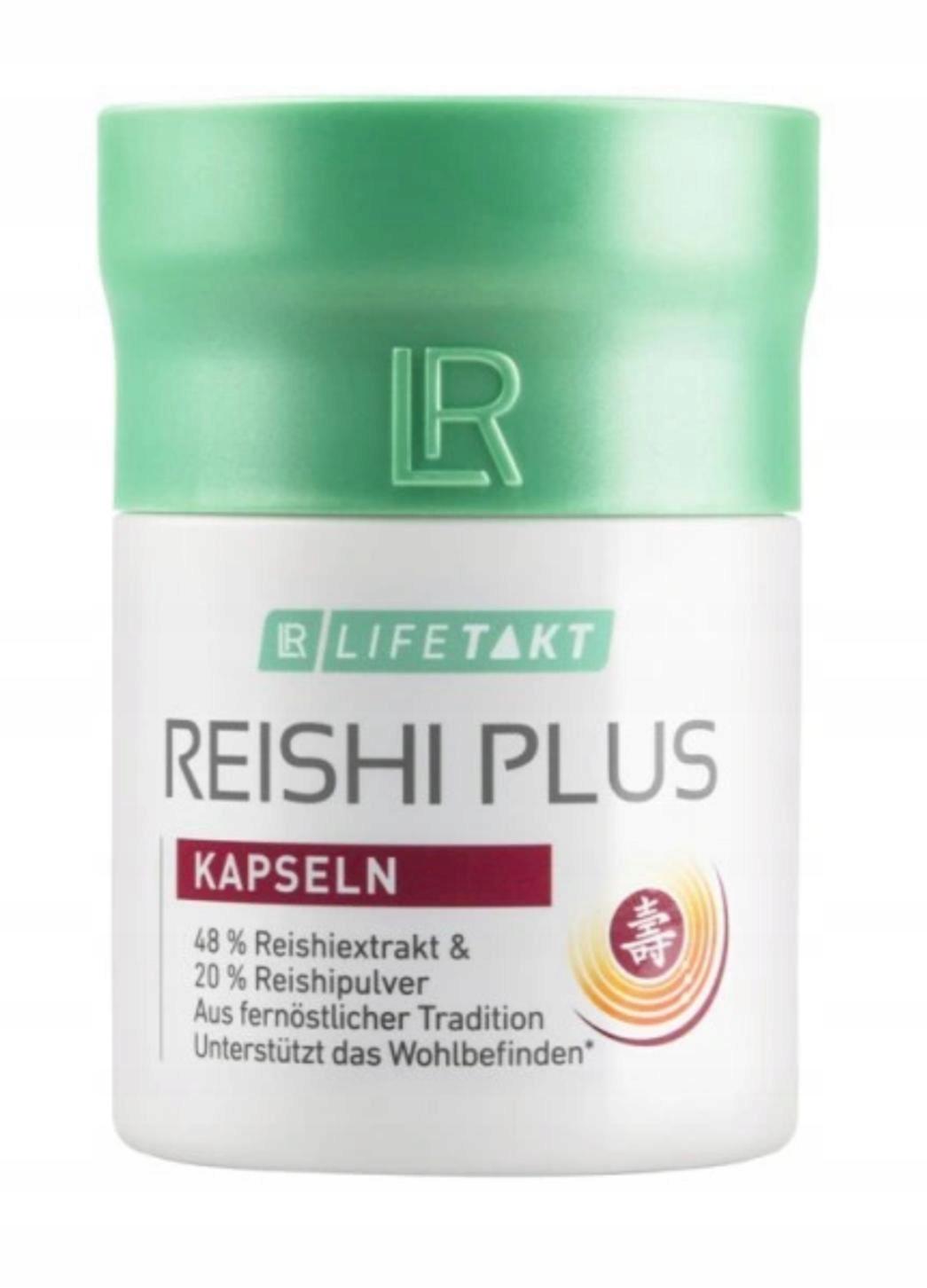 Reishi Plus Grzybki LR Health & Beauty