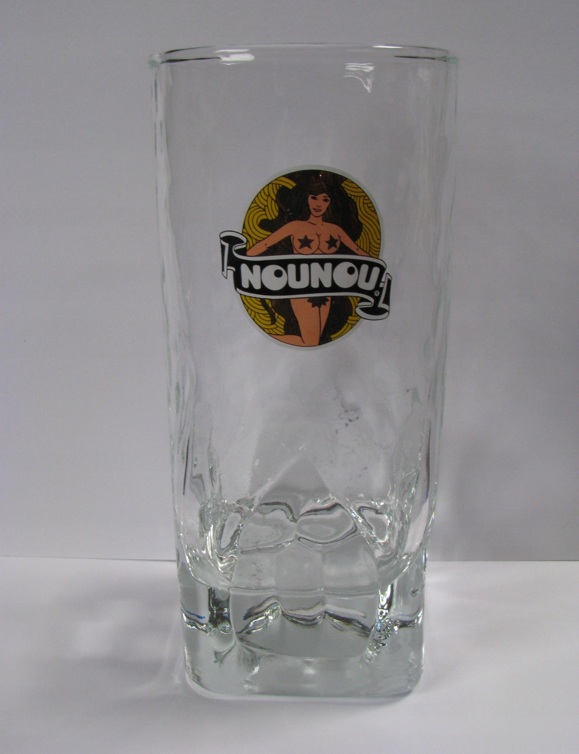 NouNou - szklanka 0,33 (Belgia)