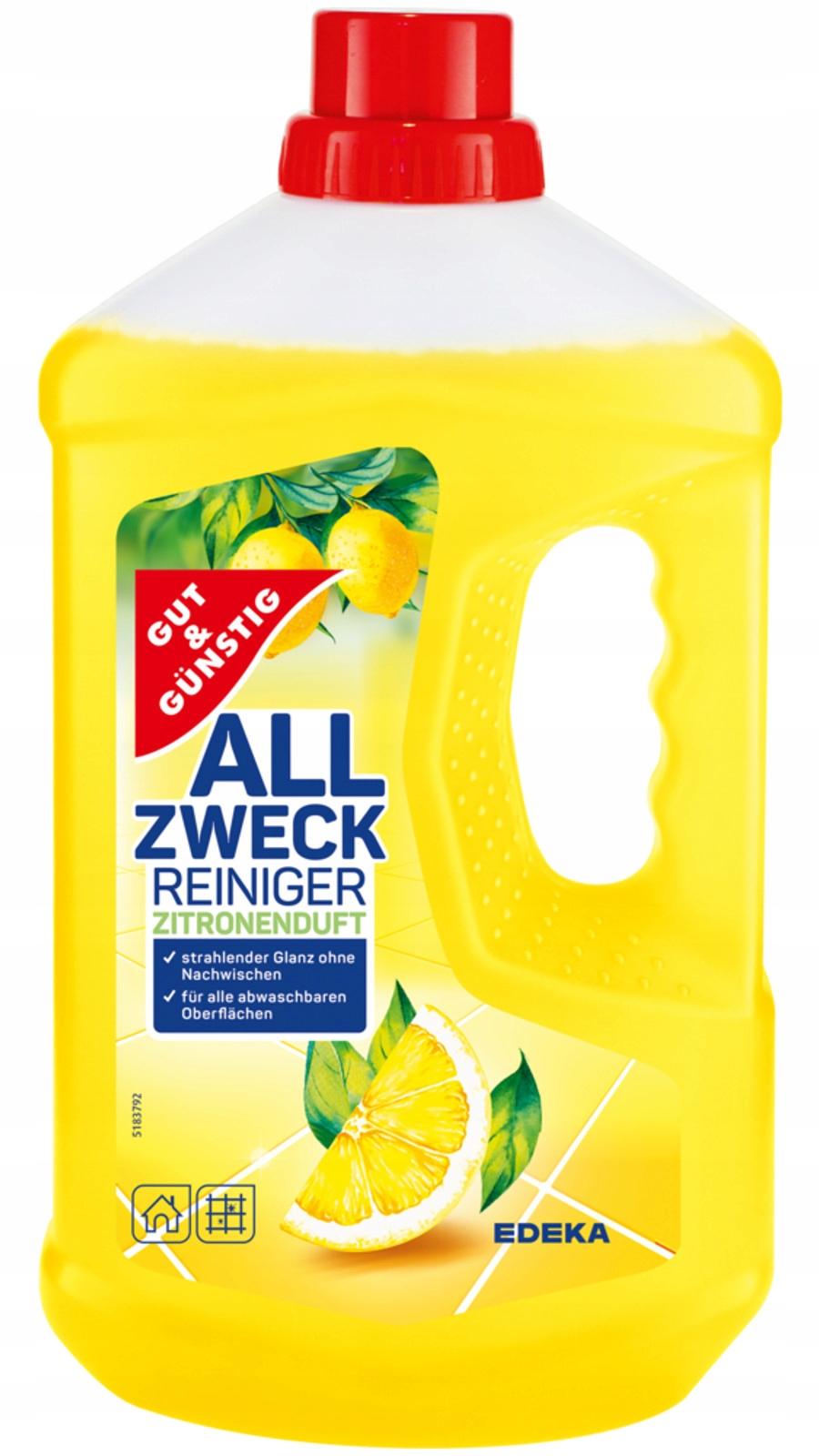 G G Zitronen Лимонная жидкость для пола, 1 л DE