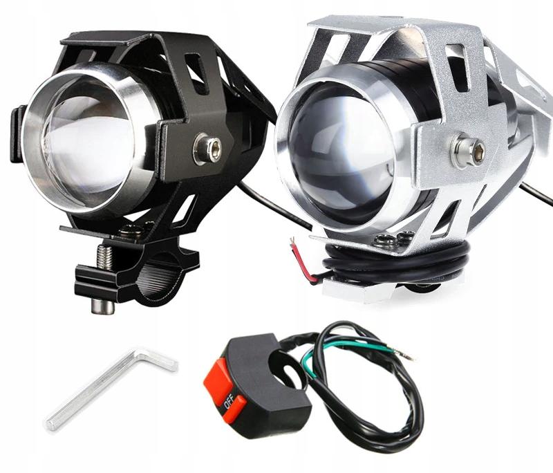 Halogeny motocyklowe lampy reflektory lightbar LED