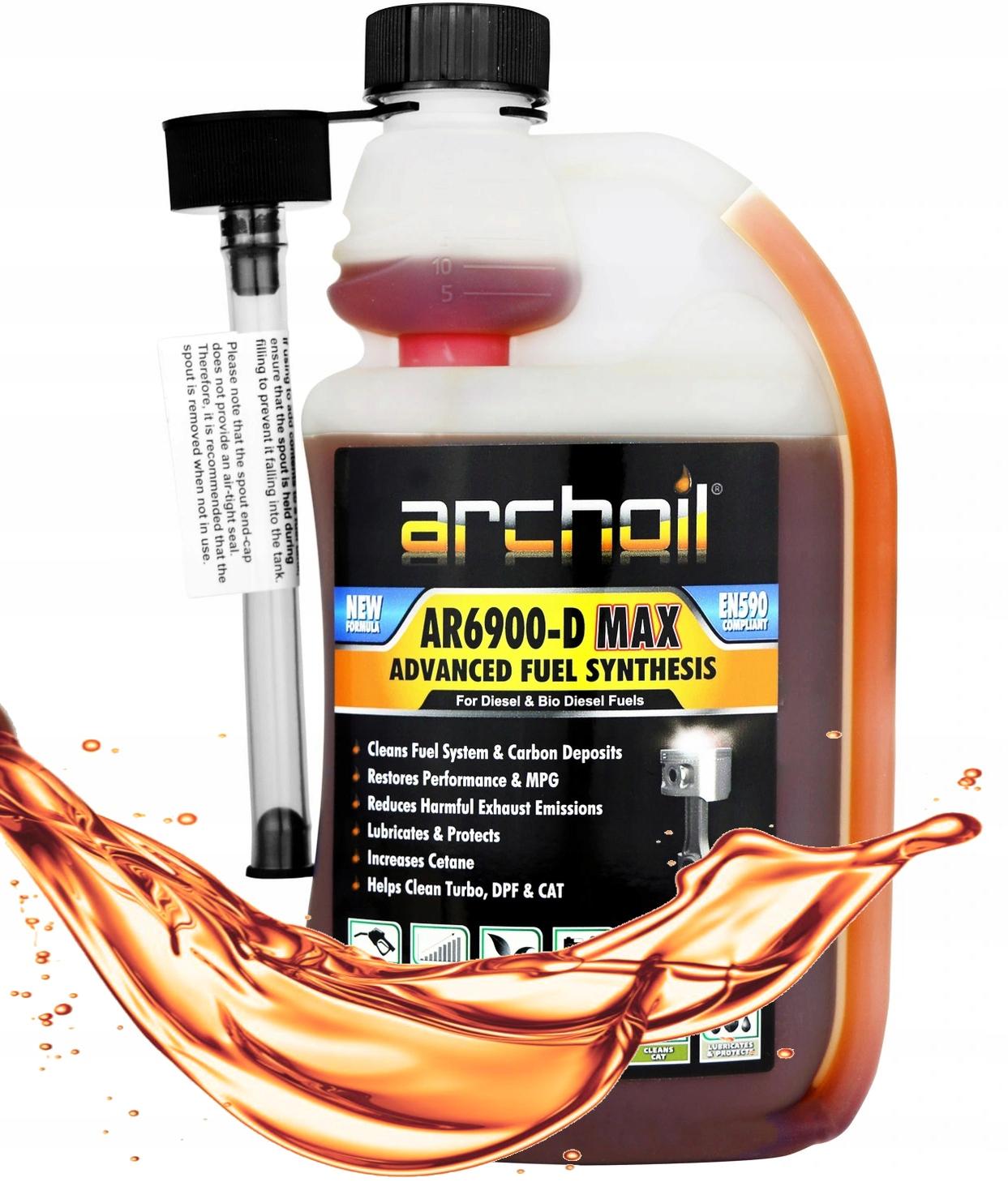 ARCHOIL AR6900-D MAX - DODATEK DO DIESLA 1 L