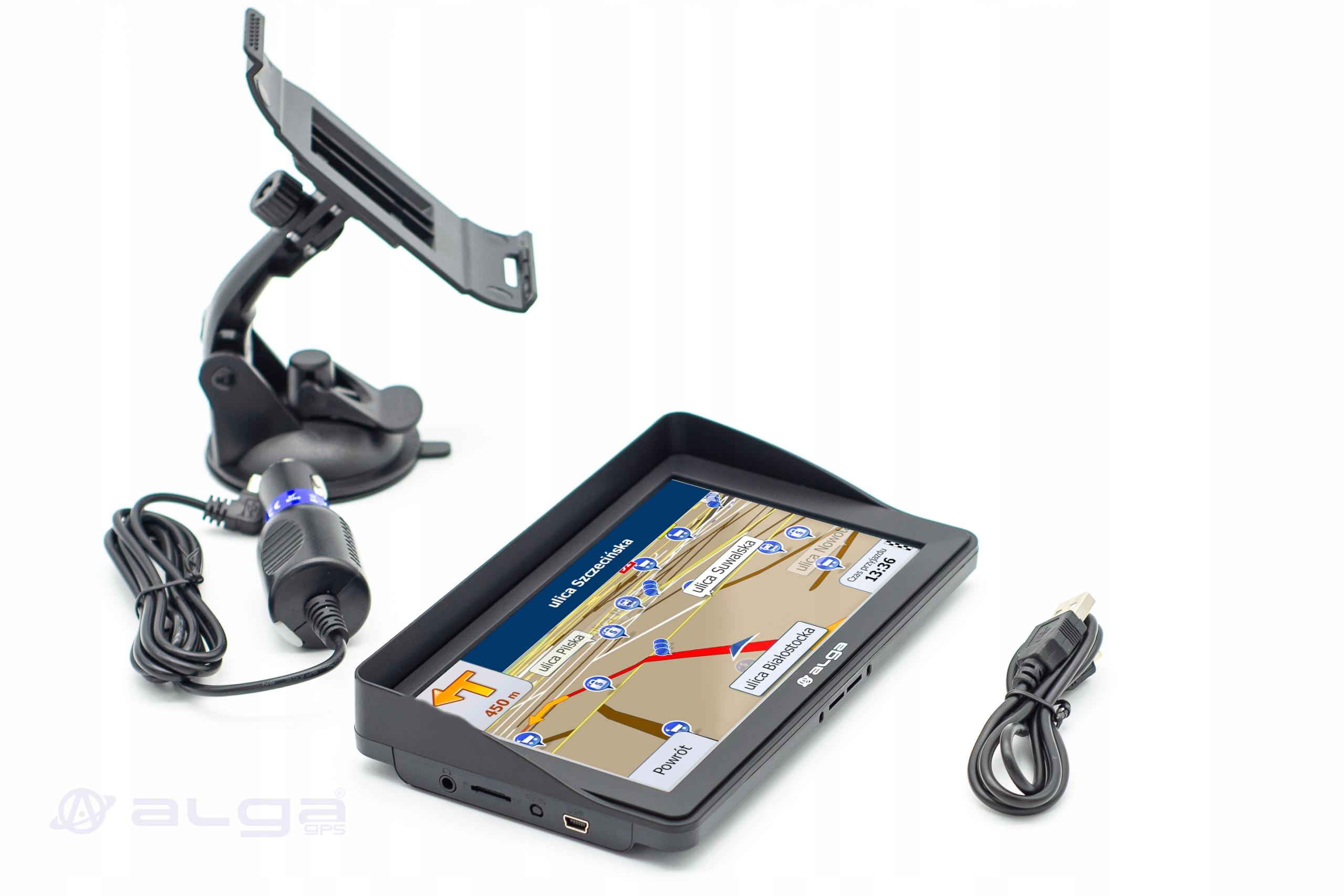 """GPS 7"""" NAWIGACJA iGO PRIMO TIR TRUCK ALKOMAT Typ nawigacji samochodowa"""
