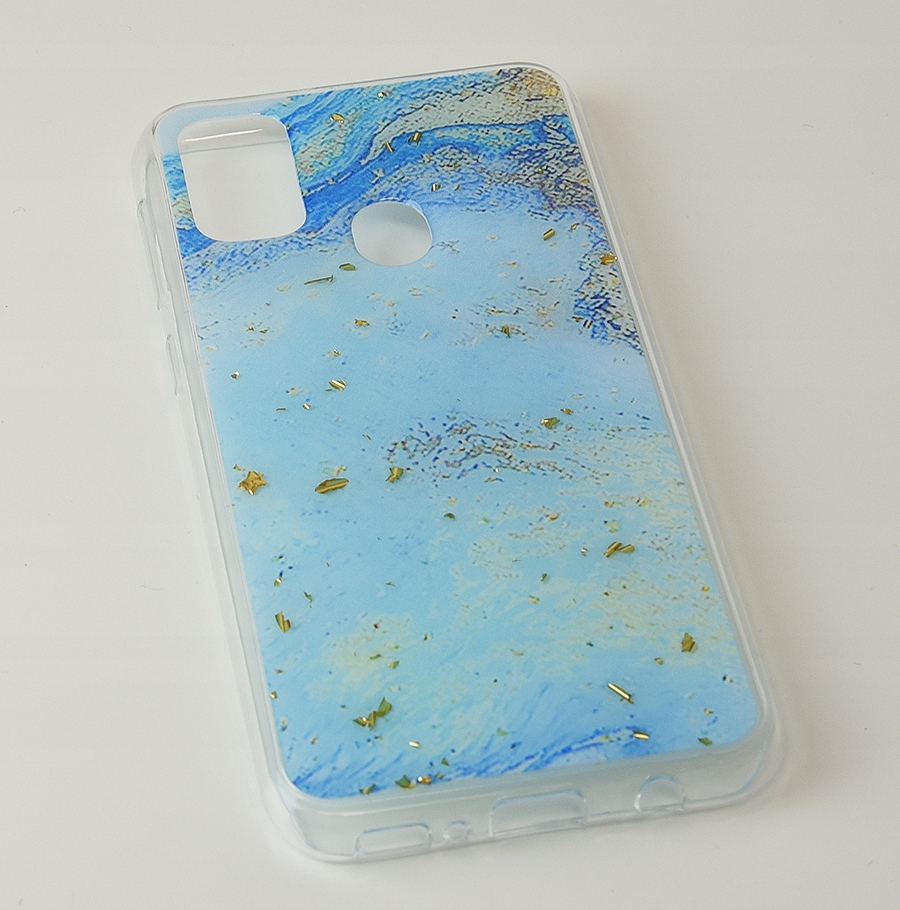 Etui do Samsung Galaxy M21 Case Wzór + Szkło 9H Kolor wielokolorowy