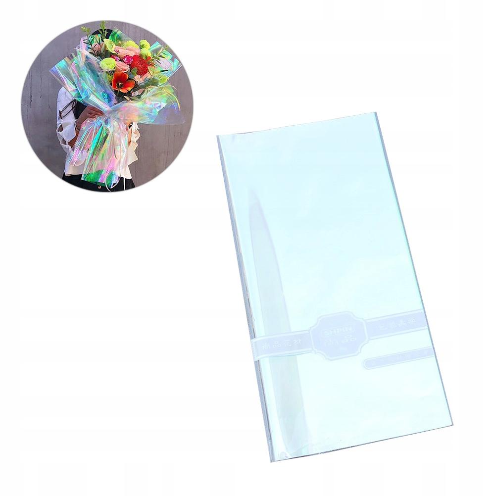 20 шт. Опалесцирующая целлофановая оберточная бумага для упаковки