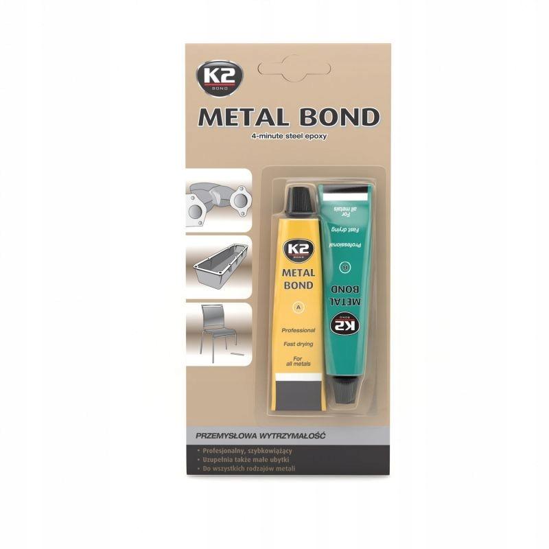 K2 METAL BOND 56,7 г Металлический клей вместо сварочного