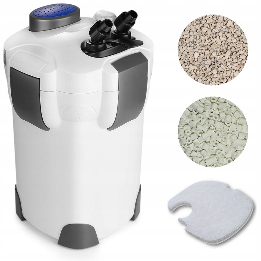 Внешний ковшовый фильтр для аквариума на 500 л