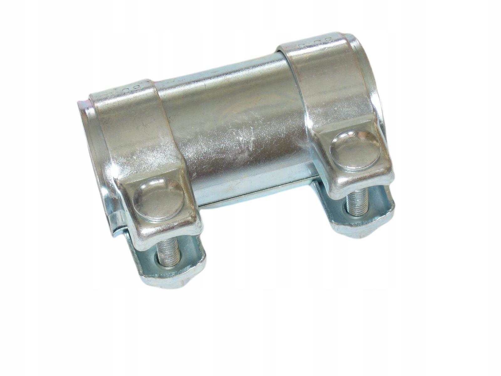 Соединитель разъем зажим труба глушителя 55x125mm vw