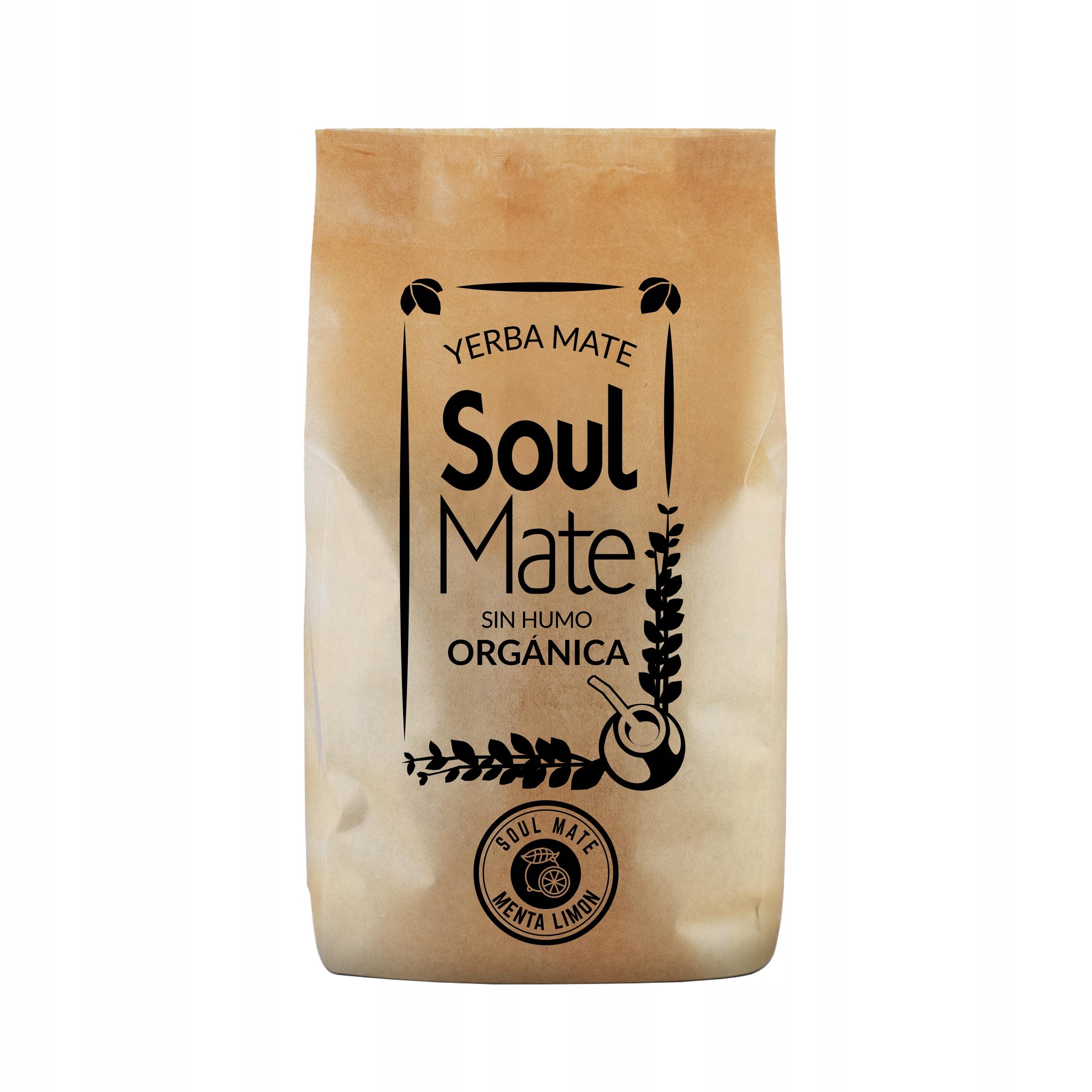 Yerba Soul Mate Organica Menta Limon 0,5 кг био