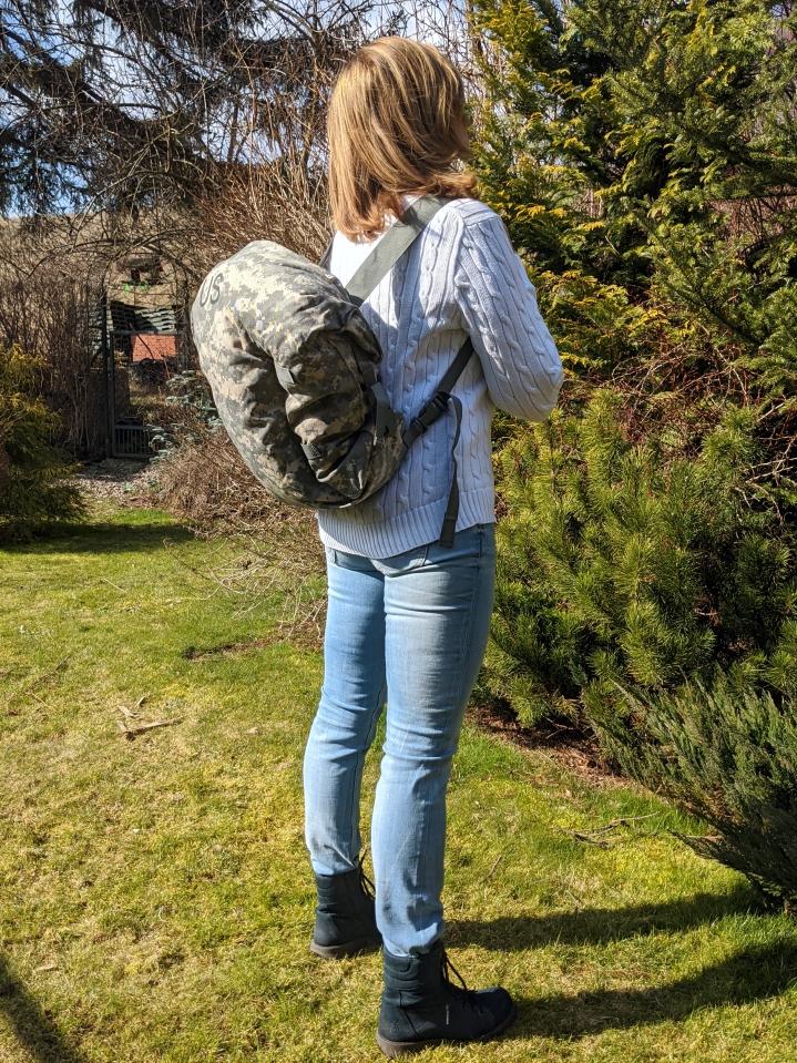 Купить ориг. легкая тактическая сумка-рюкзак US UCP JSL-new на Otpravka - цены и фото - доставка из Польши и стран Европы в Украину.