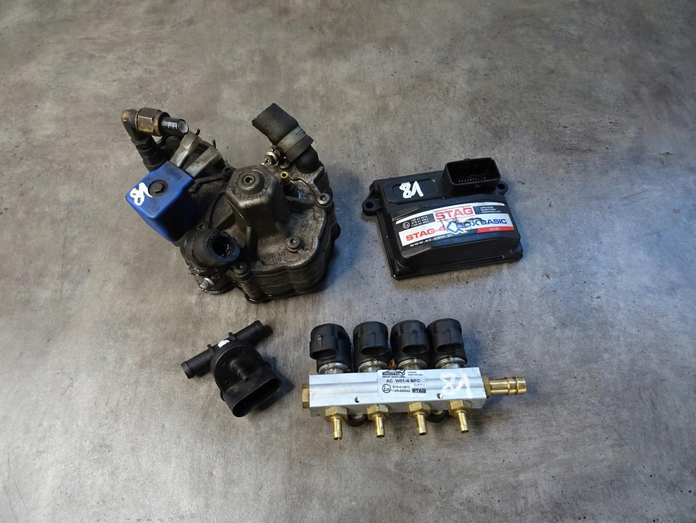 комплект газовый драйвер stag-4 box basic ac w01-4